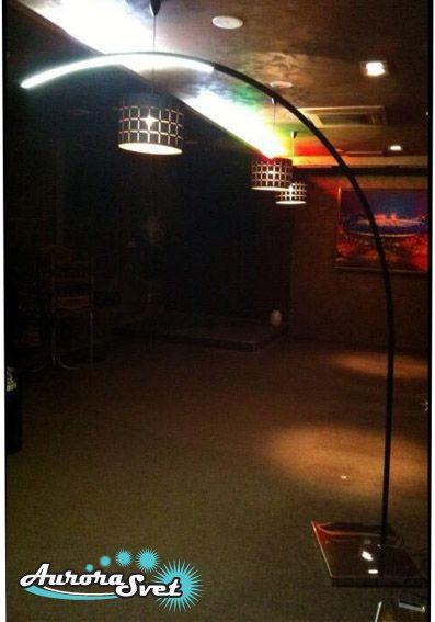 Светодиодный торшер Элион. Декоративный светильник. Уличный LED светильник. Эксклюзивный светильник.