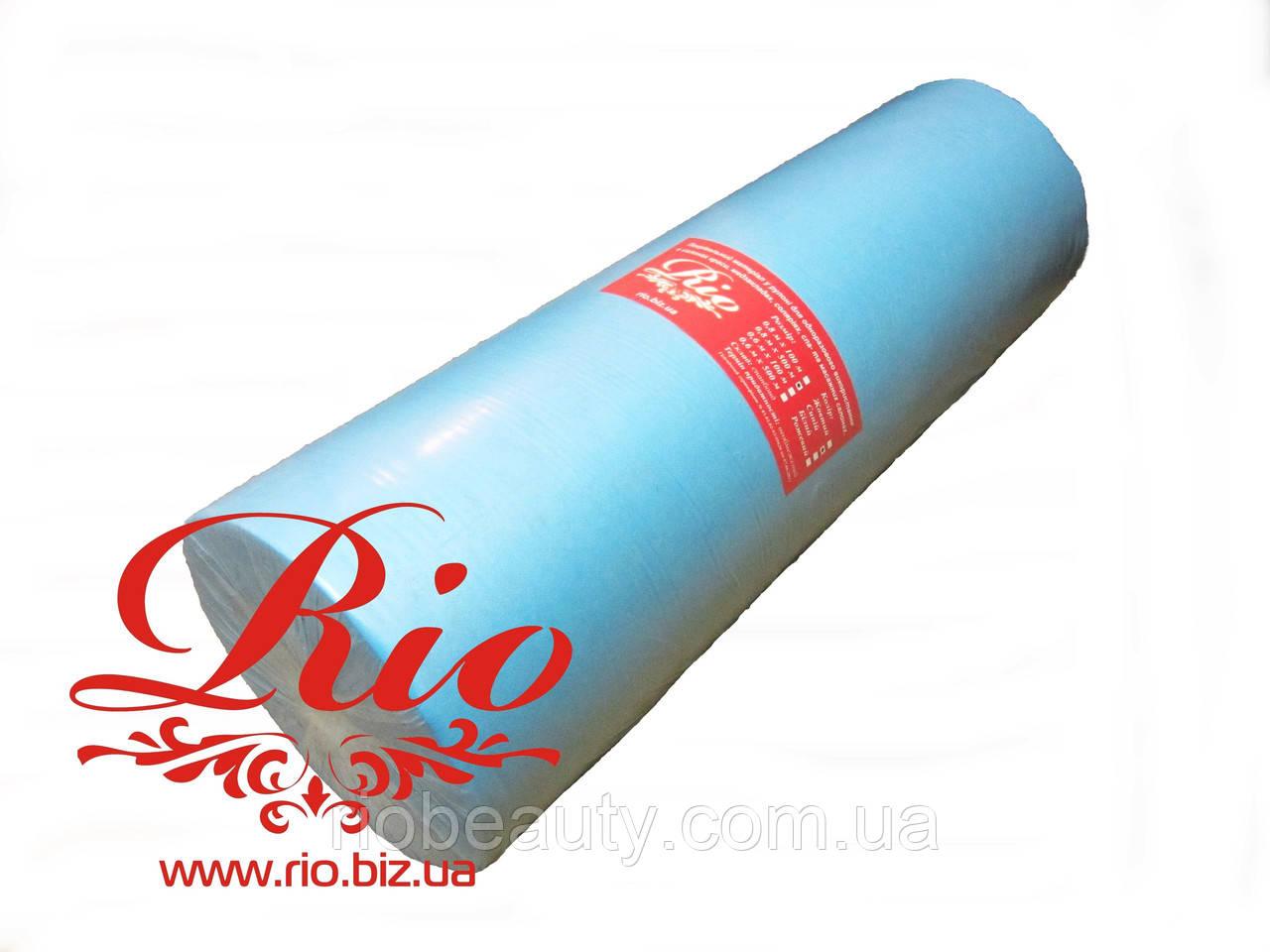 """Простынь одноразовая  ТМ """"Rio""""  косметологическая 0.8 x 500 м comfort"""