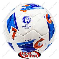 Мяч футбольный Euro 2016 FB-5215 (№5, 5 сл., сшит вручную)