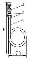 Отборное устройство давления прямое 16-250П, фото 1