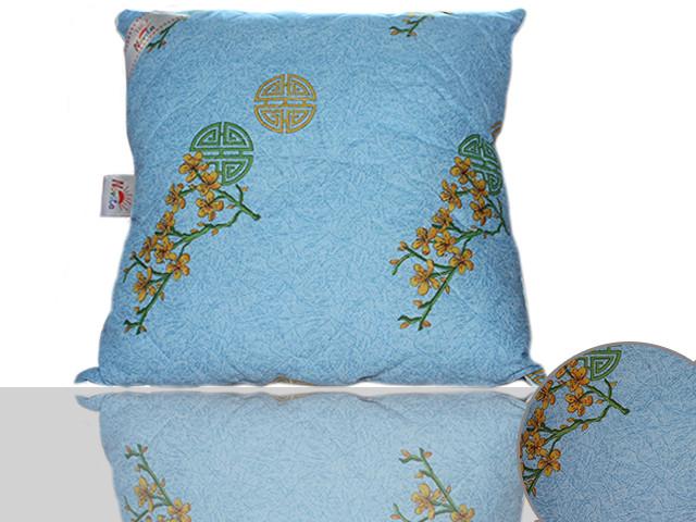 Подушка силиконовая 70х70 (синяя)