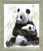 Набор для вышивания крестом Crystal Art Игра в прятки (панды)