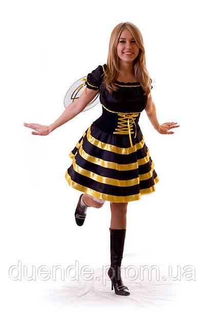 Пчелка - непоседа женский карнавальный костюм / BL - ВЖ139