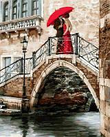 Раскраска по номерам Турбо Романтика Венеции (VP549) 40 х 50 см