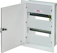 Шкаф распределительный e.mbox.RP-24 мет. встраиваемый, 24 мод. 350х255х125 мм
