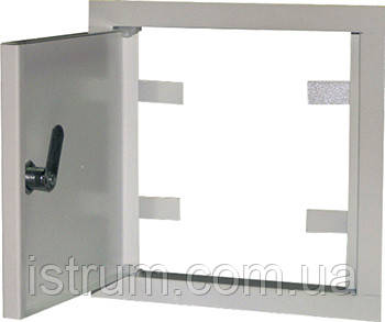 Дверцы металлические ревизионные  e.mdoor.stand.150.150 150х150мм
