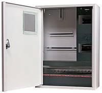 Шкаф распределительный e.mbox.stand.n.f3.24.z.е под трехфазный электронный счетчик+ 24 мод., навесной с замком.