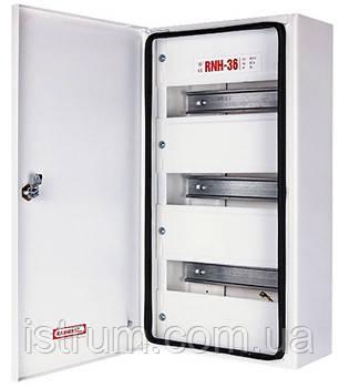 Шкаф распределительный e.mbox.RNH-36 мет., герметичн. IP 54, навесной, 36 мод., 480х255х115 мм