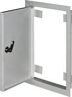 Дверцы металлические ревизионные  e.mdoor.stand.250.400.z 250х400м c замком