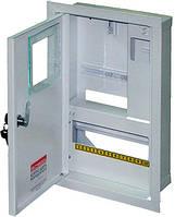 Шкаф распределительный e.mbox.stand.w.f1.10.z.e под однофазный электронный счетчик+ 10 мод.страиваемый замком