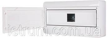 Корпус пластиковый навесной (NT) 13-модульный, однорядный, IP 55 c непрозрачной дверкой