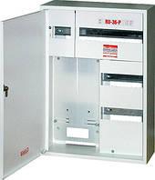 Шкаф распределительный e.mbox.RU-36-P-Z мет. навесной, 3-ф. счетчик,36 мод. замком, 560х410х185 мм