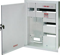 Шкаф распределительный e.mbox.RW-36-P-Z мет. встраиваемый, 3-ф. счетчик,36 мод. замком, 560х410х185 мм