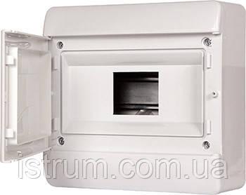 Корпус пластиковый, навесной (NT) 9-модульный, однорядный, IP 40, з непрозрачной дверкой