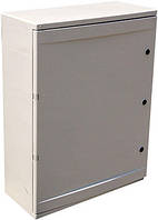 Шкаф ударопрочный из АБС-пластика e.plbox.210.280.130.8m.blank, 210х280х130мм, IP65 с панелью под 8 модулей