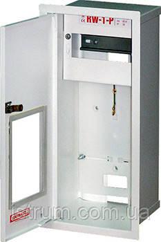 Шкаф распределительный e.mbox.RW-1-P мет. встраиваемый, 1-ф. счетчик,6 мод., 395х175х165 мм