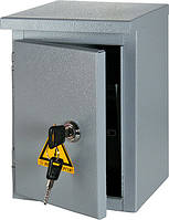 Шкаф e.mbox.stand.n.06.z металлический, под 6мод., герметичный IP54, навесной, с замком