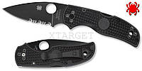 Нож Spyderco NATIVE 5 PLN/SER BLACK BLADE FRN