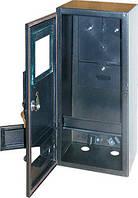 Шкаф распределительный e.mbox.stand.n.f3.22.z.str под трехфазный счетчик (пустой), навесной, 22 мод. с замком, уличный