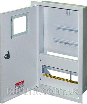 Шкаф распределительный e.mbox.stand.w.f3.12.z под трехфазный счетчик+ 12 мод.страиваемый замком