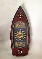 Декор настенный, 40х15 см, Часы, Лодка, Оригинальные подарки,  Днепропетровск, фото 1