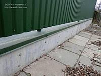 Фундамент для заборов несъемная опалубка Киев Киевская область