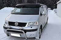 Козырек на лобовое стекло Volkswagen Т5 (03-) / акрил.на креплении