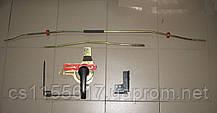 Комплект тяг/ригелей + замок 94VBV43289AE задней левой двери на Ford Transit год 1991-2000 (парус)