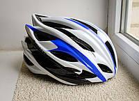 Шлем велосипедный GIANT 2016 Бело-синий, фото 1