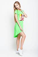 Летнее асимметричное женское платье , фото 1