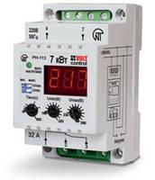 Реле контроля напряжения, тока, фаз, многофункциональные