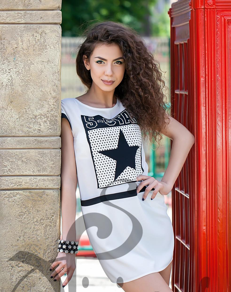 ab14a4c3deaa Летнее легкое платье свободного силуэта СуперСтар - Модный магазин в  Киевской области