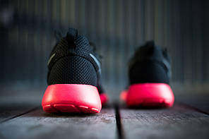 Кроссовки Nike Roshe Run (Black/Red), фото 2