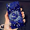 """SAMSUNG J120 J1 2016 оригинальный чехол бампер панель накладка PC прозрачный со стразами камнями """"ROYAL 1"""" , фото 7"""