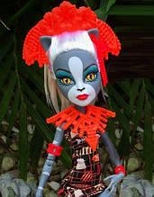 Кукла Monster High Мяулодия (Meowledy)  Побег монстров Монстер Хай Школа монстров