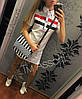 """Платье летнее """"Tommy Hilfiger"""", двунитка, белое, размеры: 46, длина 80-84 см"""
