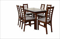 "Стол на кухню деревянный раскладной ""Сид"" 120(+30)х70х75"