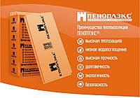 Экструдированный пенополистирол Пеноплекс ОСНОВА 50х600х1200