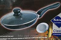 Сковородка Schtaiger 24 см SHG-777-24, формы для выпечки, сковородки, кастрюли , кухонная посуда