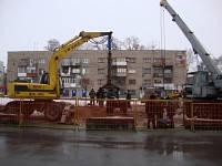 Строительство наружных сетей водопровода, ливневой и фекальной канализации, теплоснабжения