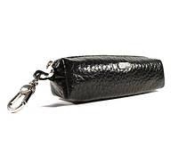 Ключница кожаная, чехол для ключей Desisan 207-1 черный