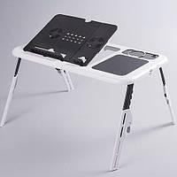 Подставка столик для ноутбука E-table LD09 2 USB Cooler