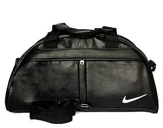 Вместительная спортивная сумка черного цвета