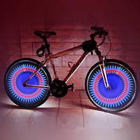 Светодиодное декоративное освещение велоколеса 32 LED DIY