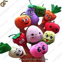"Куклы на пальцы - ""Веселые овощи"" - 10 шт., фото 1"