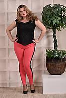Женская летняя блузка кремовая 0252-2-2, с 42 по 74 размер
