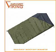 Спальный мешок-одеяло Terra Incognita Campo 200 хаки с серым