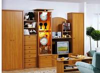 Шкафы-горки для гостиной под заказ