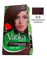 Краска для волос Vatika Naturals насыщенный красный (набор 50 мл+50 мл)