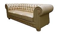 "Кожаный диван Честер ""Chester"", (декор пуговицами), фото 1"